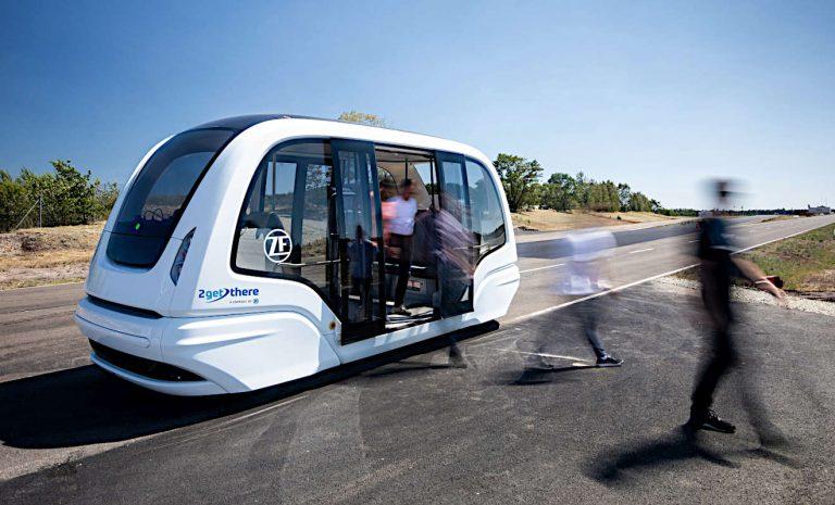 Robo-Shuttles: Entlastung für staugeplagte Städte