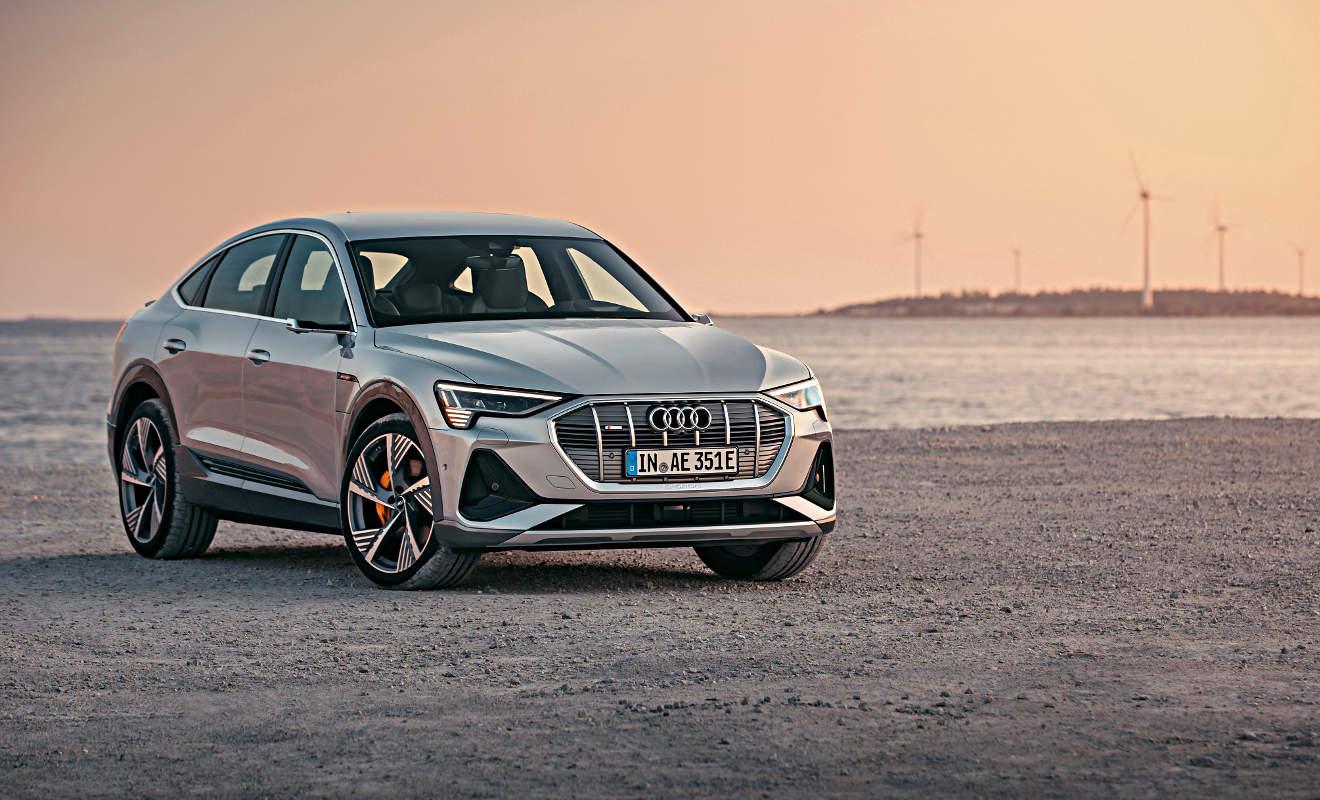 Auto - Audi e-tron Sportback: Das elektrische SUV-Coupe