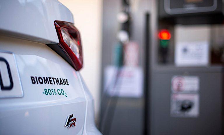Seat tankt erneuerbar mit Erdgas aus Bioabfällen