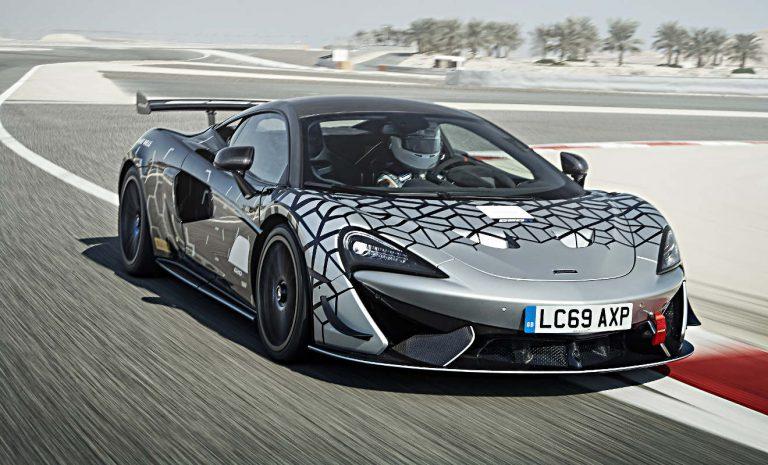 McLaren 620R: Rennstreckentraining inklusive
