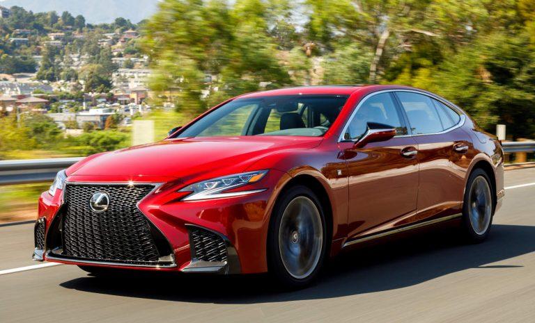Lexus LS 500: Ein Reiz für die Sinne