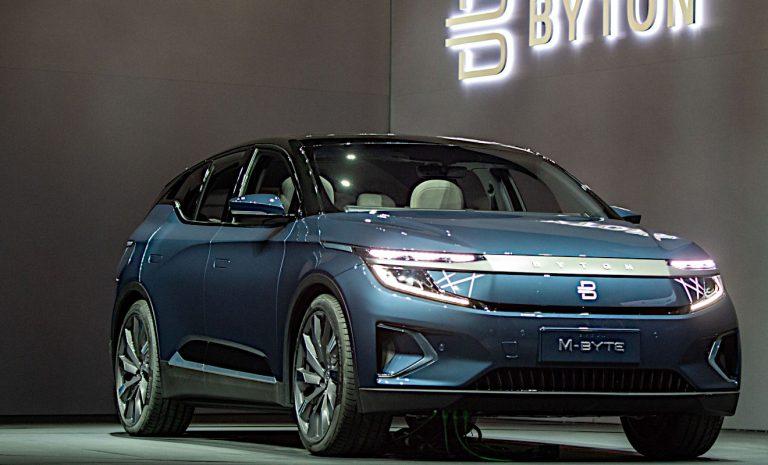 Foxconn kooperiert mit Elektroautobauer Byton