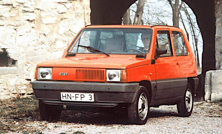 Fiat Panda: Die «tolle Kiste» wird 40