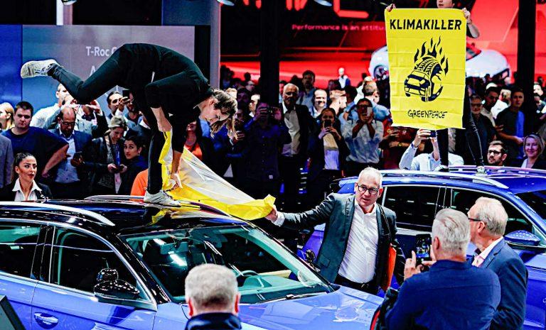 IAA: Aktivisten wollen «grüne Autoparty» stören