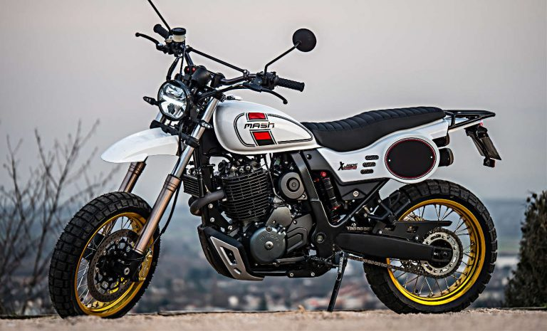 Mash X-Ride: Erinnerungen an Yamaha XT 500