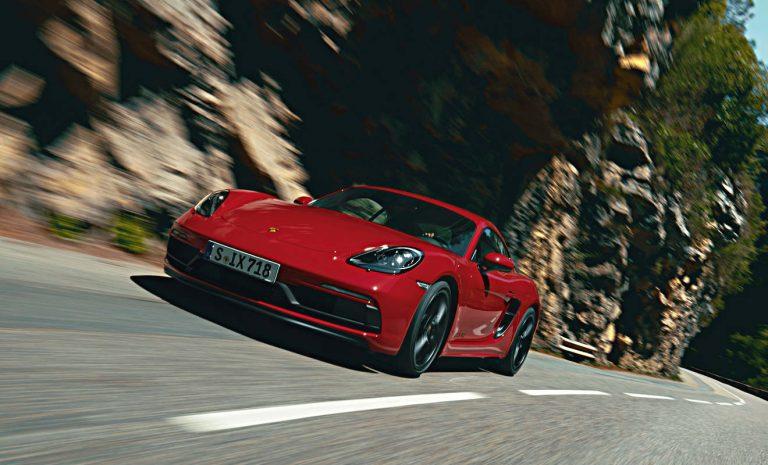 Porsche 718 Cayman GTS: Mit der Kraft des Sechszylinders