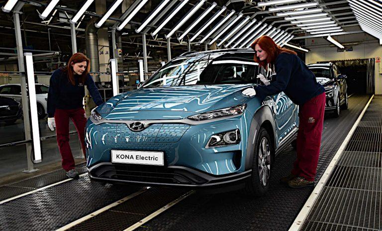 Hyundai erhöht Produktionskapazitäten für Kona Elektro