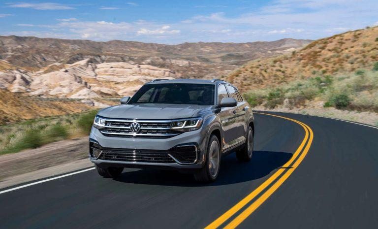 VW Atlas CrossSport: Auf die schräge Tour