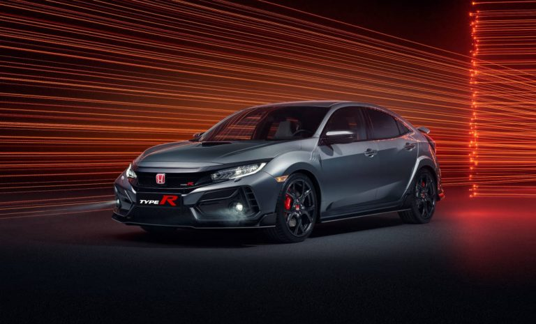 Honda Civic Type R: Playstation inklusive