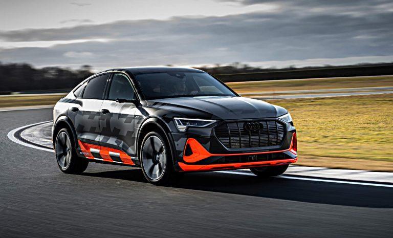 Audi e-tron S: Ein Motor je Hinterrad