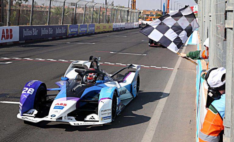 Formel E: BMW-Pilot Günther glücklich über Platz zwei