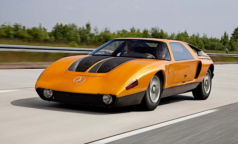 Mercedes C 111: Ein Traum in orange