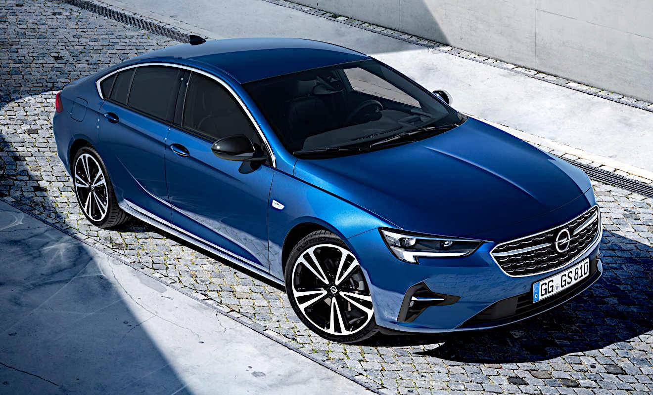 2021 New Opel Insignia Exterior