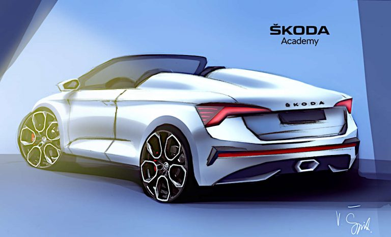 Skoda Scala Spider wird nächstes Azubi-Car
