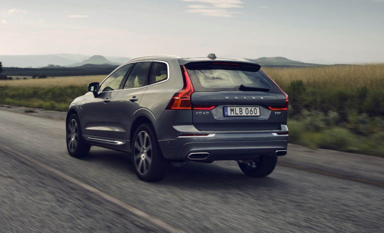 Volvo XC60 erhält neuen Plug-in-Hybrid