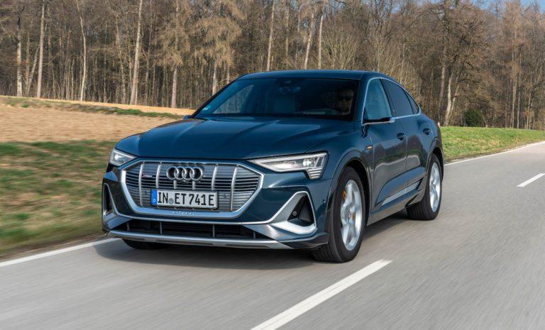 Audi e-tron Sportback: SUV-Coupé mit Effizienz-Plus