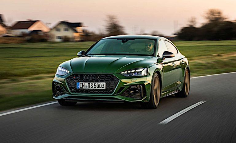 Audi RS5: Beschleuniger für den Pulsschlag