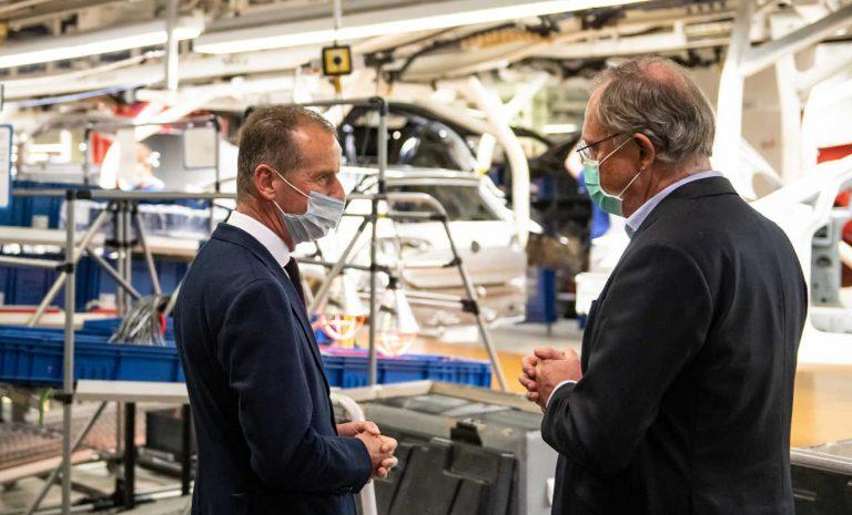VW-Chef Diess fordert schnelle Kaufanreize für Autos