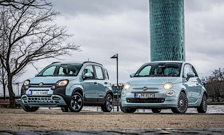 Fiat 500 Hybrid als Sondermodell Launch Edition