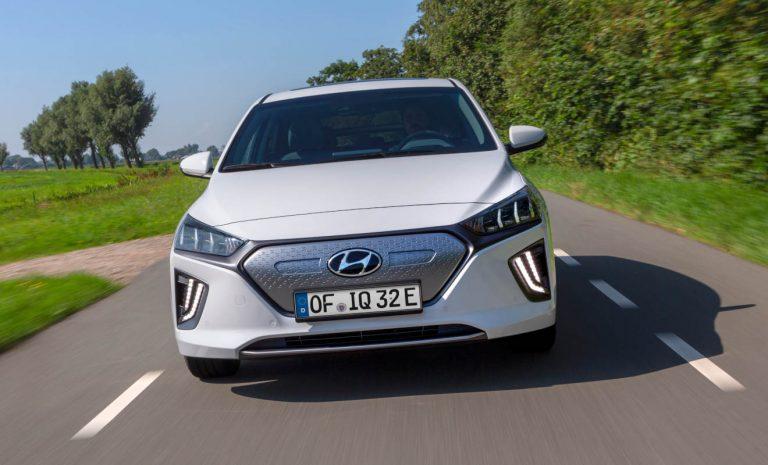 Hyundai Ioniq Elektro mit acht Jahren Garantie