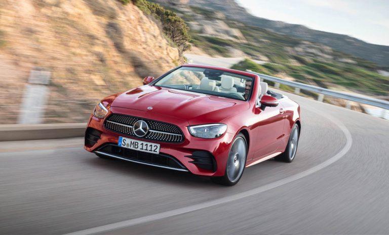 Mercedes E-Klasse: Nun kommen Coupé und Cabrio