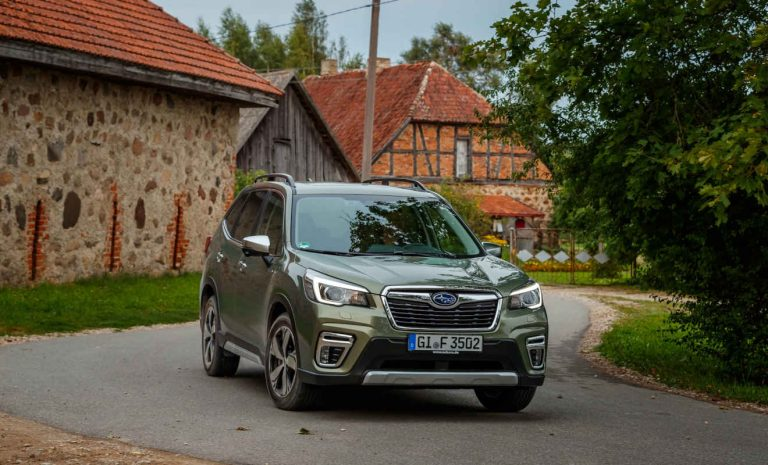 Subaru Forester: Sparen mit Hybridunterstützung