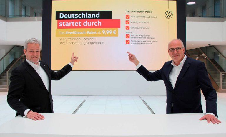 VW legt Programm zur Absatzförderung auf