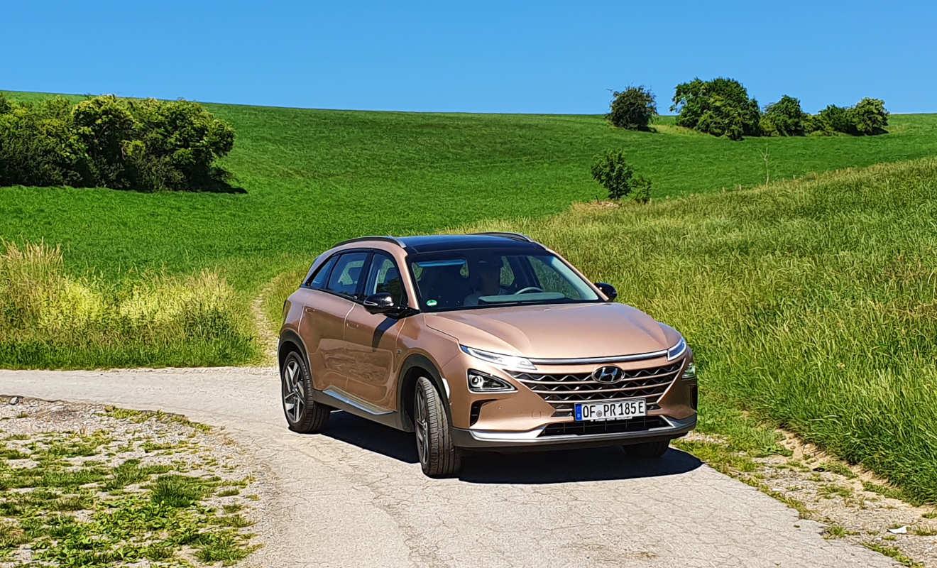 Wasserstoff Hyundai Nexo: Entspannt auf lange Tour