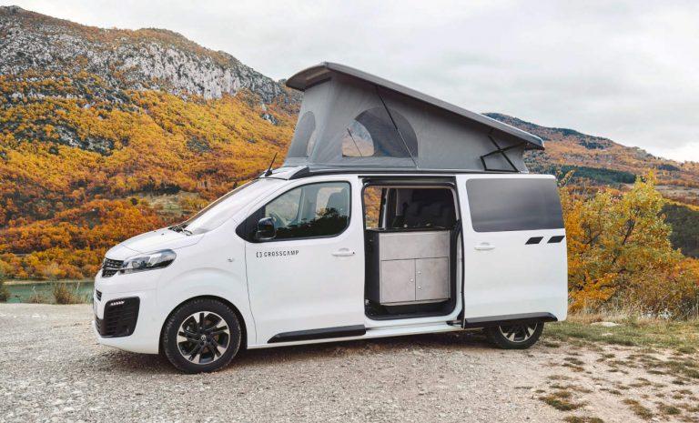 Opel Crosscamp Life: Camper mit vier Schlafplätzen