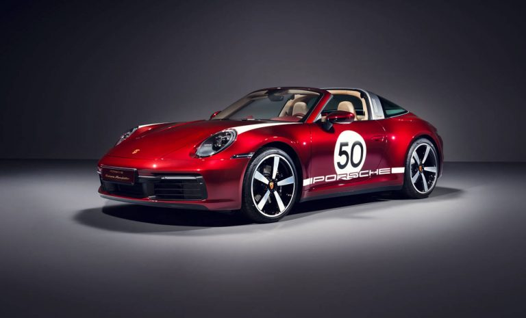 Porsche 911 Targa: Elfer im Retro-Look