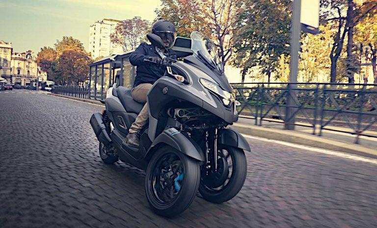 Yamaha Tricity 300: Dreirad mit guter Tourentauglichkeit