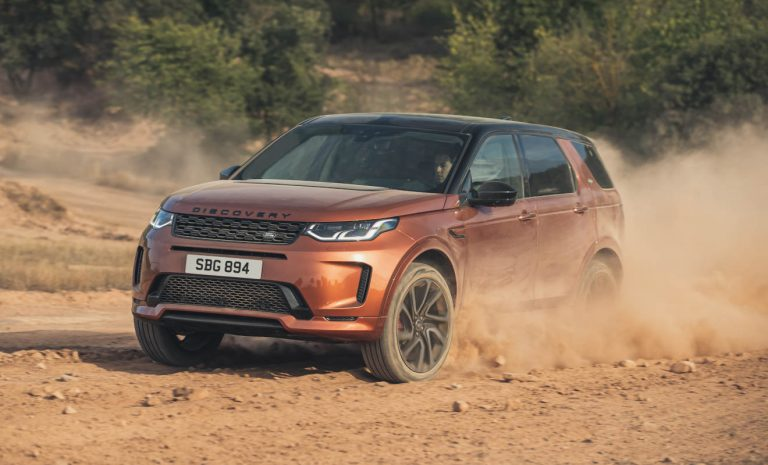 Land Rover Discovery Sport mit selbstlernendem Navi