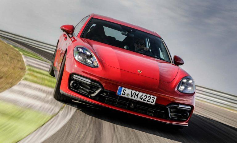 Porsche Panamera mit Leistungs-Upgrade