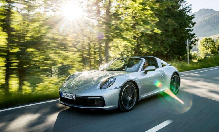 Porsche 911 Targa 4S: Geschmeidig auf Kurs