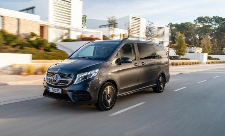 Mercedes V-Klasse: Nun auch mit Airmatic