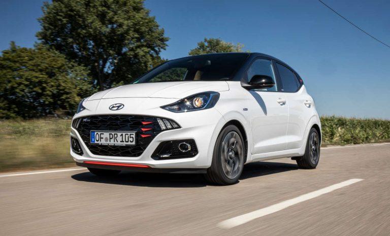 Hyundai i10 N Line: Auf sportlich getrimmt
