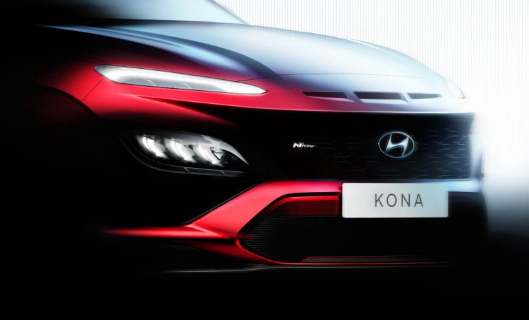 Hyundai Kona erhält sportliches Facelift