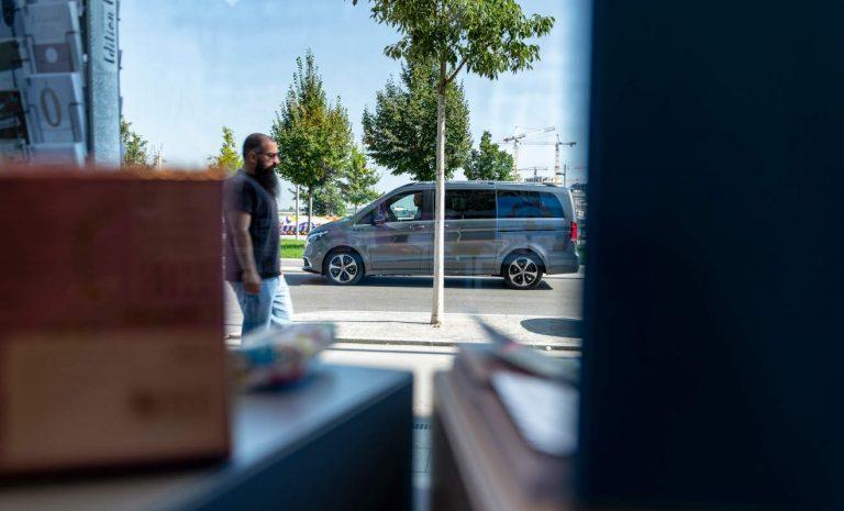 Mercedes EQV: Elektrisch zur Smart City Aspern