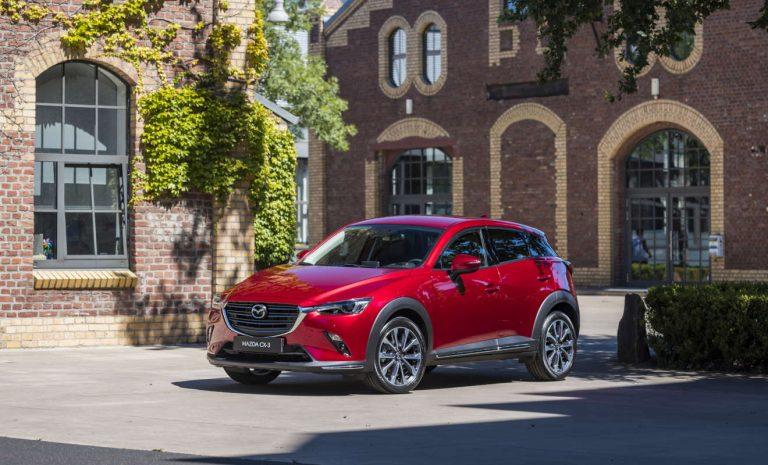 Mazda CX-3: Neue Optik, weniger Motoren