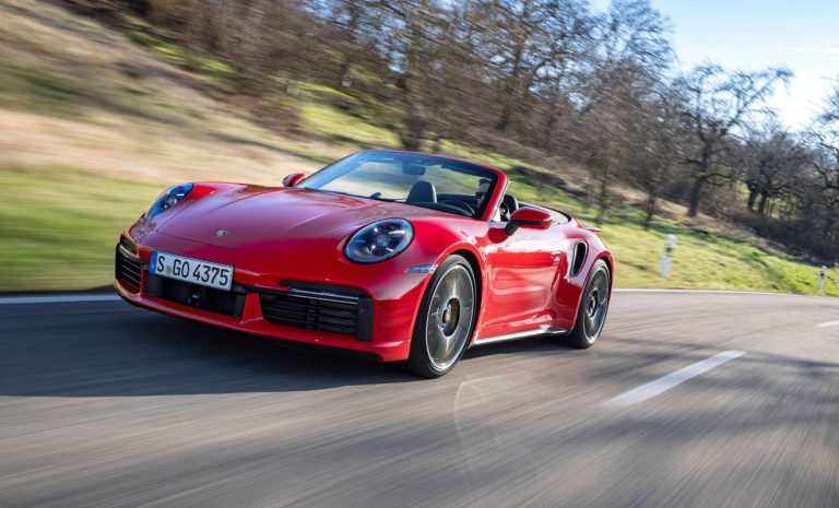 Porsche 911 Turbo S Cabrio: Überzeugt sogar im Alltag
