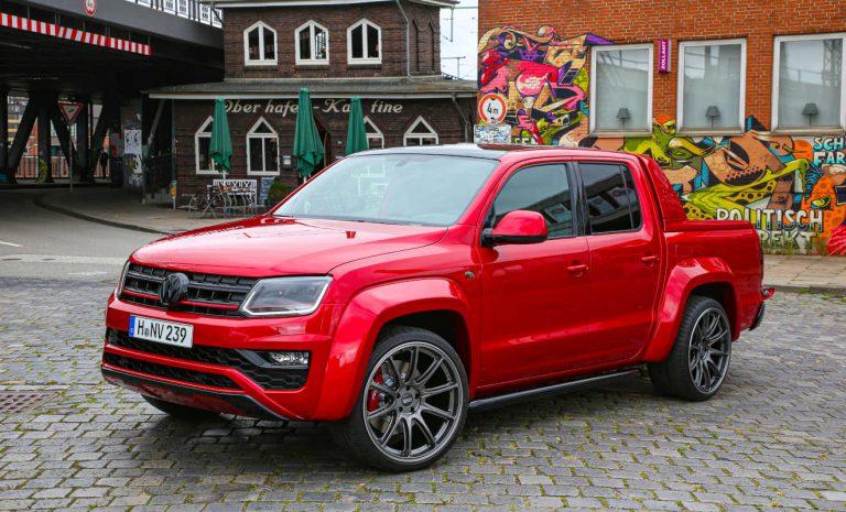 VW Amarok Red Rock: Breiter, tiefer, feiner