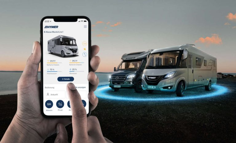 Hymer Connect: Smartes Reisemobil