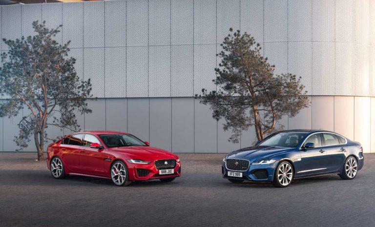 Jaguar elektrifiziert die Limousinen XE und XF