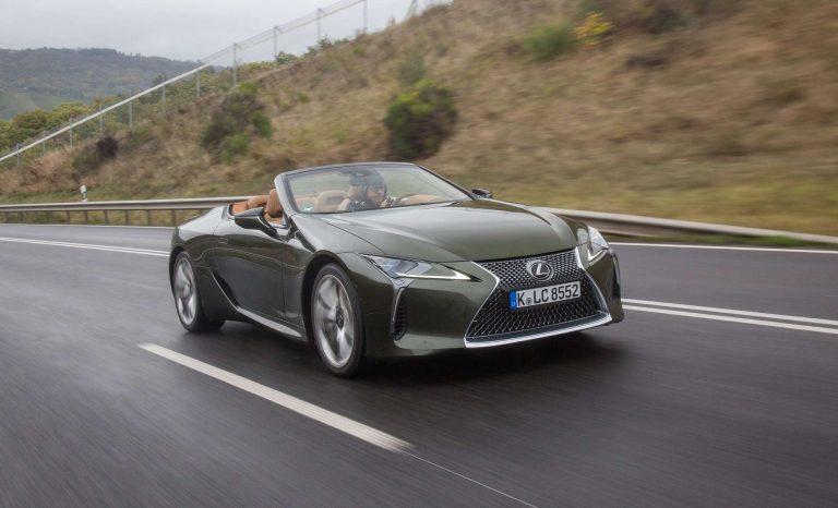Lexus LC 500 Cabrio: Nicht nur optisch eine Freude