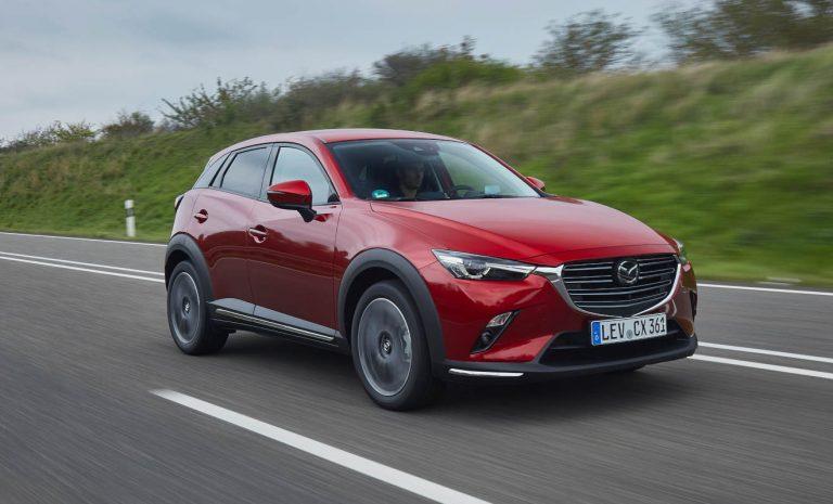 Mazda CX-3: Effizientes Mini-SUV