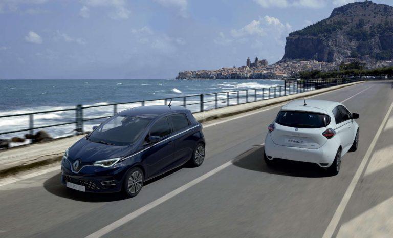 Renault Zoe als Sondermodell Riviera