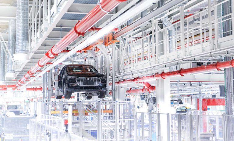 Audi plant bis 2025 klimaneutrale Produktion