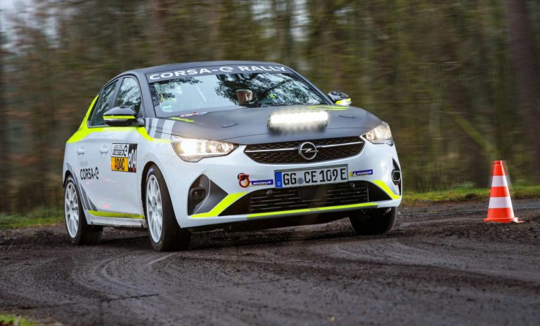 Opel Corsa-e Rally: Bereit für elektrischen Markenpokal
