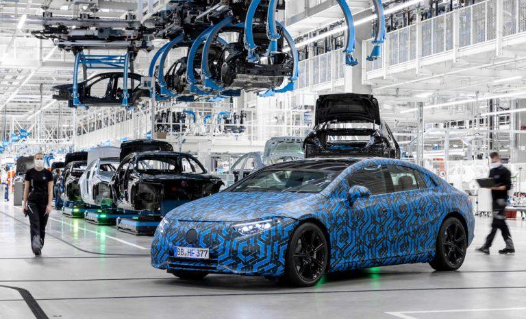 Mercedes produziert sechs neue E-Modelle bis 2022