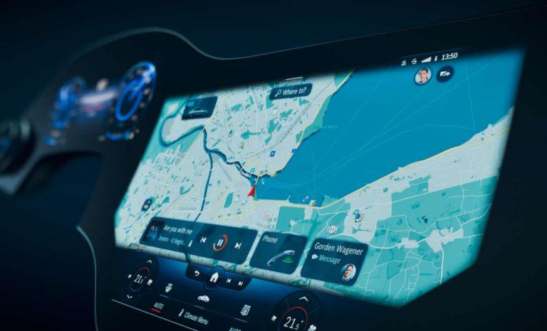 Mercedes EQS: Ein Hyperscreen für das E-Flaggschiff
